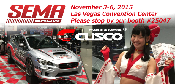 2015 SEMA Show CUSCO Announcement