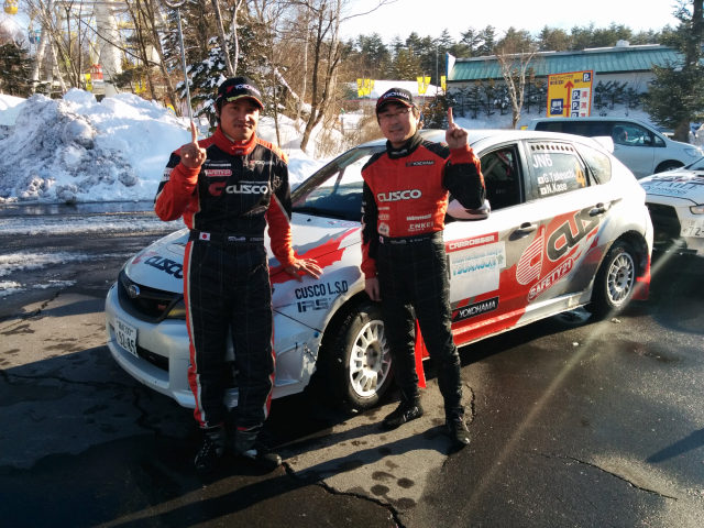 TAKEUCHI has won the FIA International Rally of Tsumagoi !