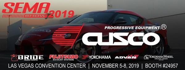 2019 SEMA Show CUSCO Announcement