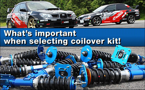 What's important when selecting coilver kit!
