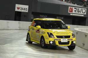 Sumiyama with Swift Sport showed well speed on Japan round of WRC