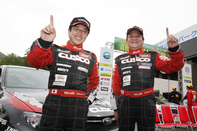 Motorsport News: Cusco JRC Rally 2012 ARK Toya Stage Report