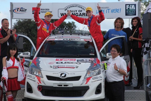 2013 APRC Rd.1 Rally of Whangarei Results