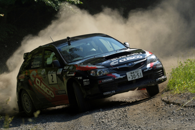 2013 Japan Rally (JRC) Rd. 3: Fukushima - Yanagisawa Places 2nd