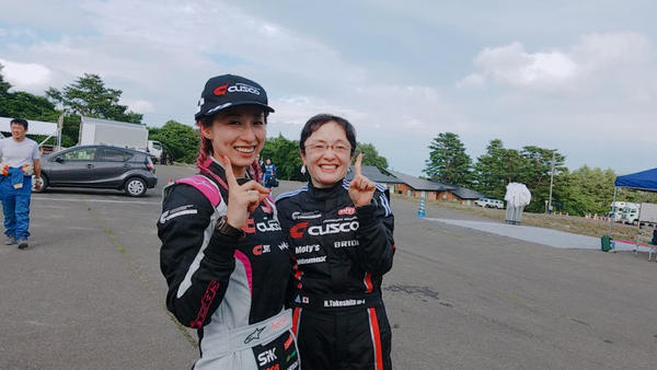 TGR Rally Challenge CUP in 弘前 クロエリ3連勝!