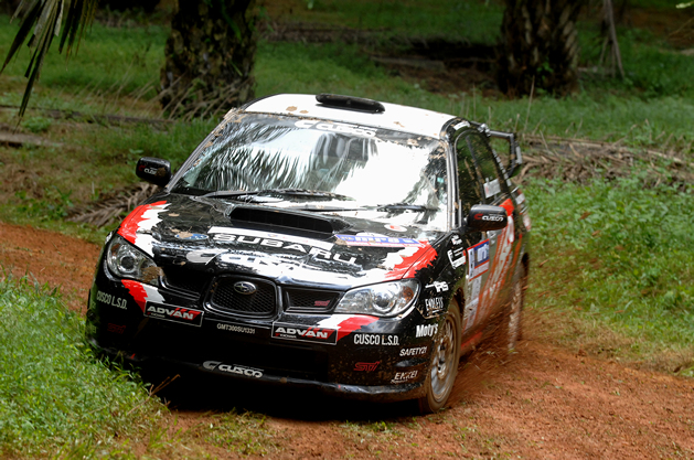 Yanagisawa completed eventful rally effecting by tropic squall, and gaining meaningful 2nd!