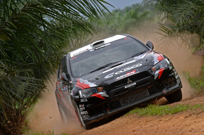 Tough Challenge on Malaysian Tricky Stages for CUSCO Crews