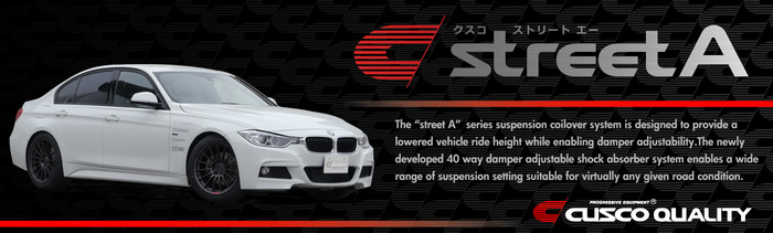 BMW, Audi, VW Street-A Suspension Coilovers